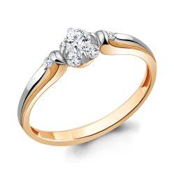 Inel de logodnă din aur ACVAMARIN art 963835k.1