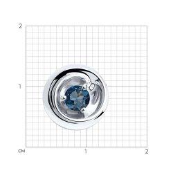 Pandantiv din argint SOKOLOV art 94-330-00334-1 2